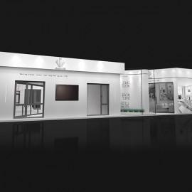 展厅设计的展位布置是怎样的?