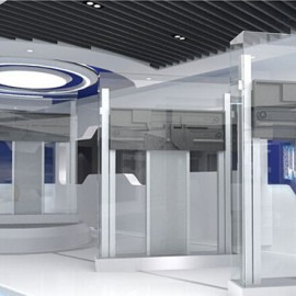 企业印象少不了的展厅装修