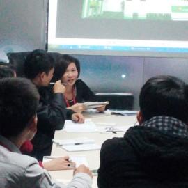 聚焦展览营销——毕加业务团队开展材料报价培训