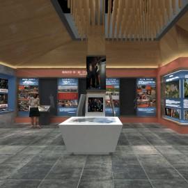 如何利用小面积制作广州展厅设计大空间呢?