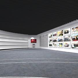 广州展厅设计中的各类展示材料