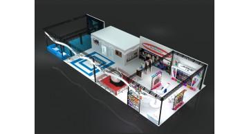 好的广州展台设计助力企业在展览会上吸引潜在客户