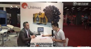 2015制罐展Unimaq公司(加索工厂制作)现场接受采访