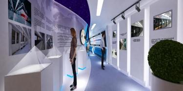 上海展廳設計中色彩選擇的重要性