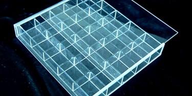 上海展臺設計搭建公司展臺搭建亞克力使用