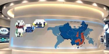 創意上海展廳設計有哪些獨有的特點