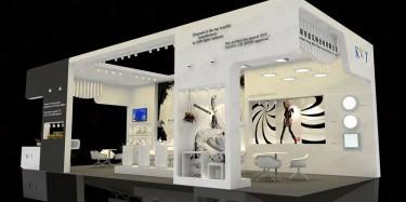 展台设计搭建公司/灯光在展台设计搭建中的作用