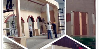 2014广州家具展规模盛大,毕加圆满完成搭建