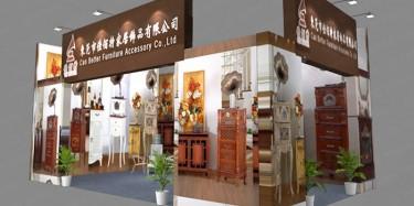 中国国际家具机械及材料展展台设计搭建找毕加