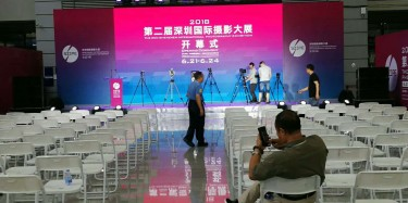 毕加展览主场搭建助力第二届深圳国际摄影大展