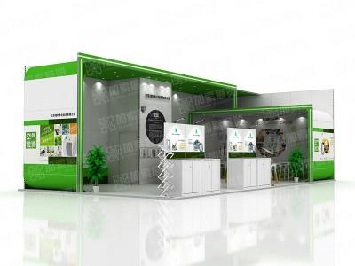 江苏绿叶易美展台设计搭建