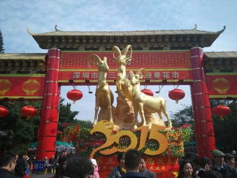 深圳市第三十四届迎春花市