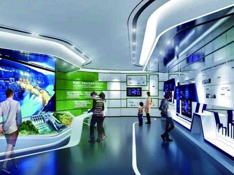 广蓄——科技工厂展厅设计装修