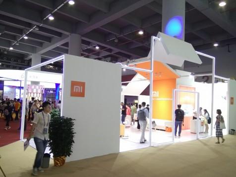 小米——手机展展台设计