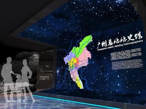 广州总站站史馆——科技企业展厅设计