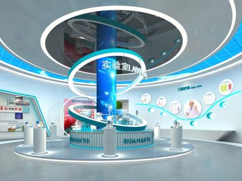 罗曼智能——科技展厅设计装修