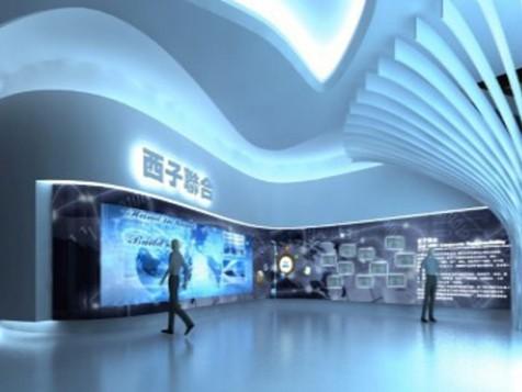 西子联合集团西部基地展示厅——科技企业展厅设计