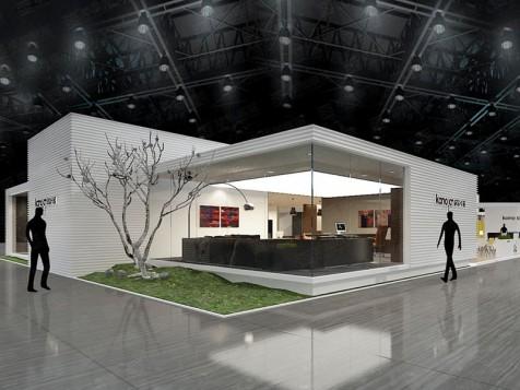 科尔卡诺家具展设计搭建