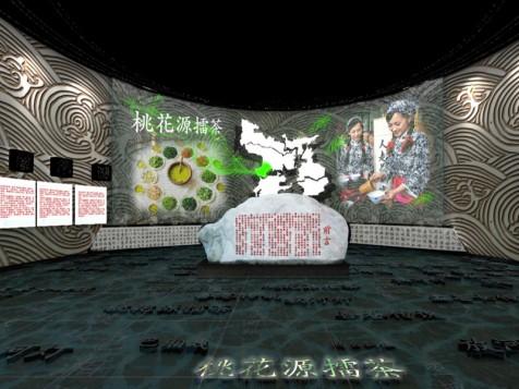 洞庭湖——非物质文化遗产展厅设计