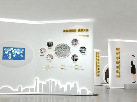 万科——地产工法展厅设计装修