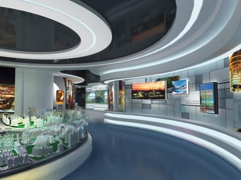 中国五冶集团——工程展厅设计装修