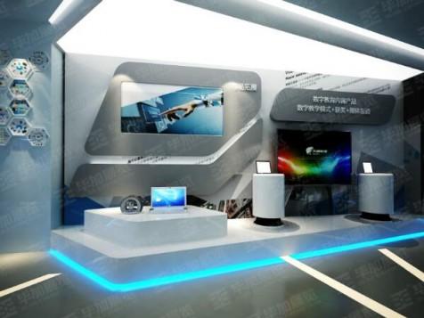 天闻数媒科技—教育展厅设计装修