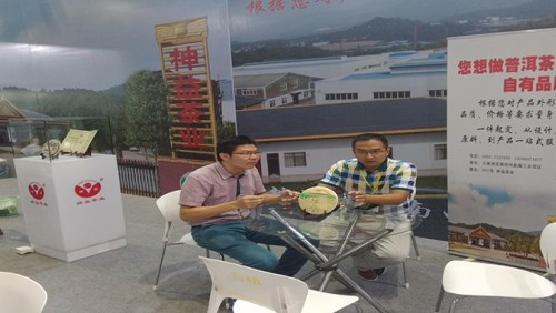 Bijia exhibition booster Shenyi tea tea Fair Chinese onslaught