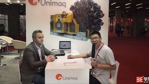 2015 can the exhibition Unimaq's interview with Bijia