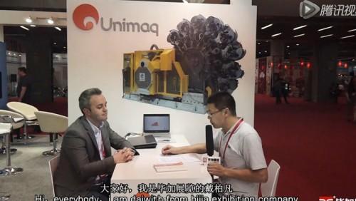 2015制罐展Unimaq公司接受毕加采访