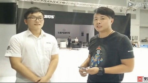 2015 Chongqing auto show Babos Bijia exhibition interview