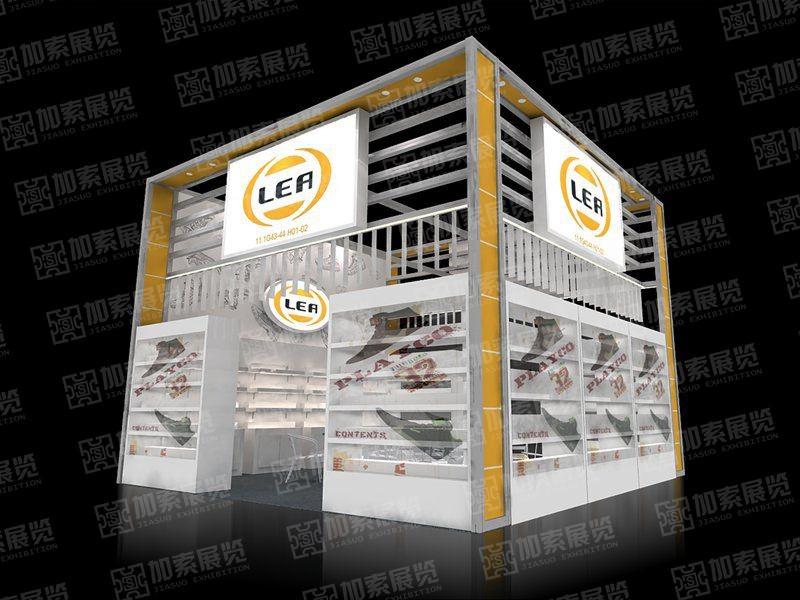 利业永盛型材展台设计搭建