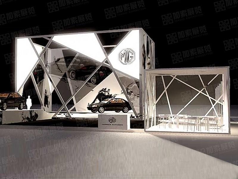 上汽名爵 型材展台设计搭建
