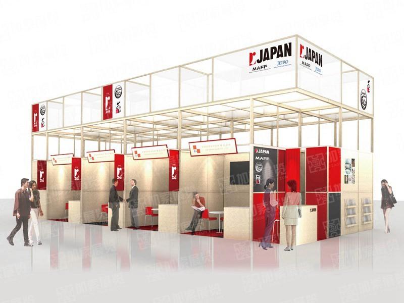 日本展团设计搭建
