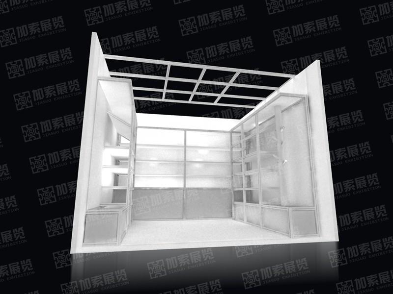 英达华型材展台设计搭建
