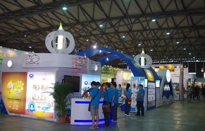 加比力设计制作 br>项目:孕婴展设计制作   地点:上海会展中心   面积