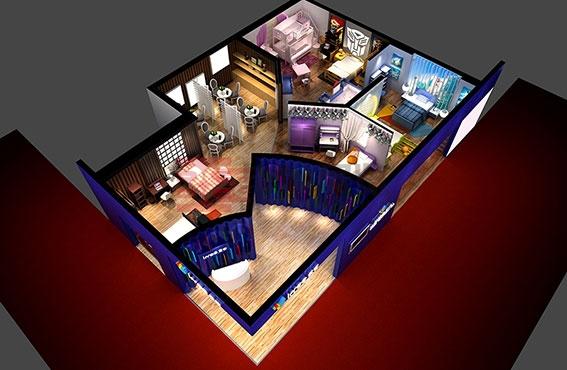 家具展平面设计图展示图片