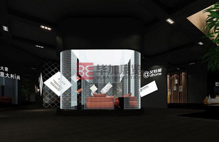 台升家具展台搭建----展览设计公司