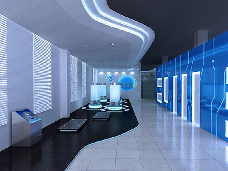 多媒体电梯展厅设计图片