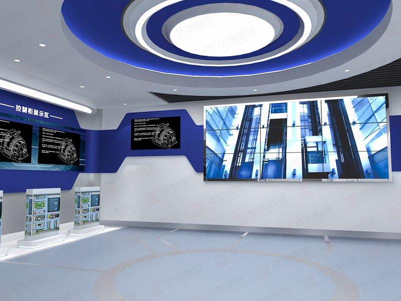 多媒体电梯展厅工程