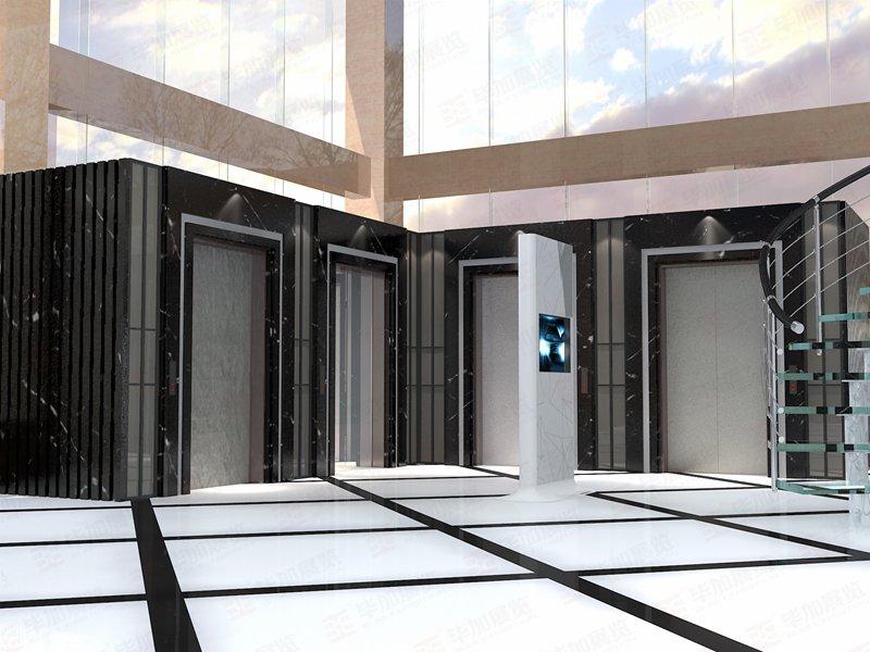 十佳电梯展厅装修