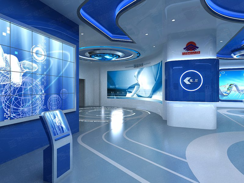 三洋—电梯展厅案例
