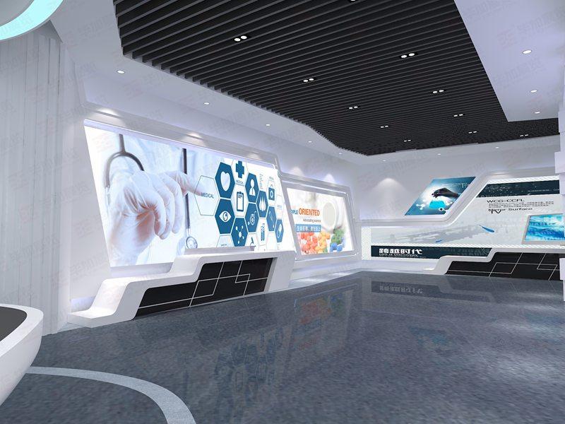 康臣药业—药业医药集团展厅设计装修