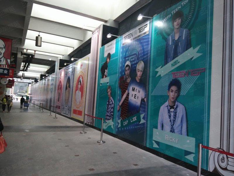 k-pop開業慶典