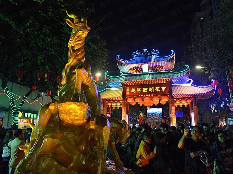 广州越秀区迎春花市