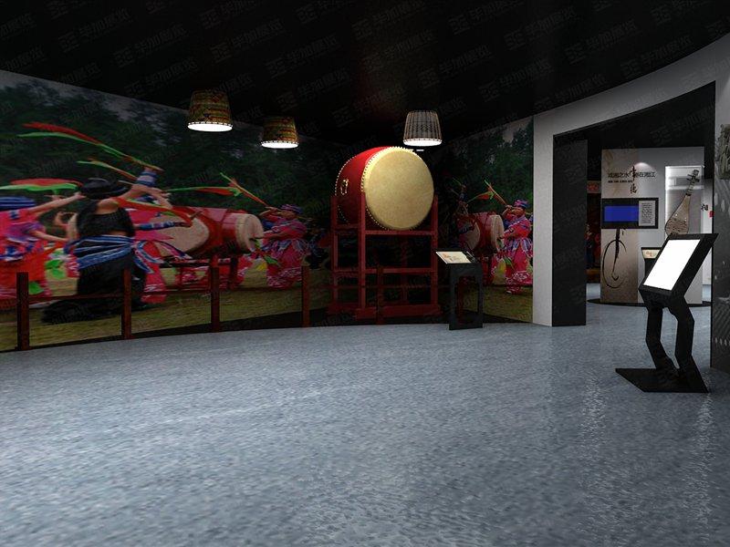 韶山非物质文化遗产展示馆设计装修