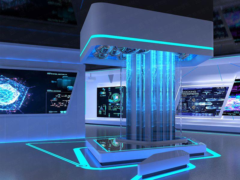 国家超级计算机——政府科技馆设计装修