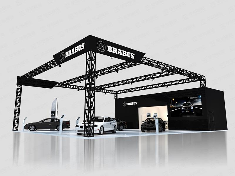 巴博斯汽车展设计搭建