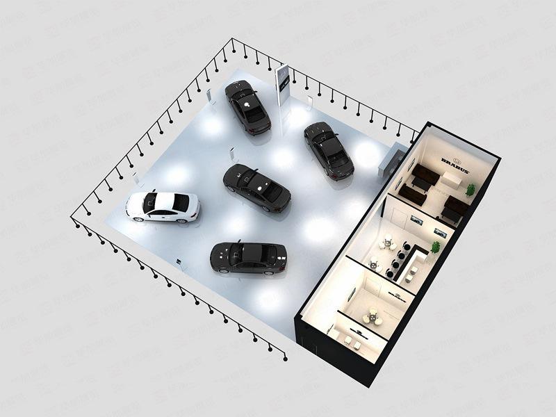 汽车展展会设计