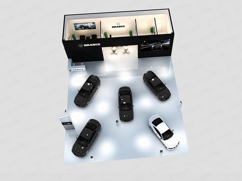汽车展展台设计