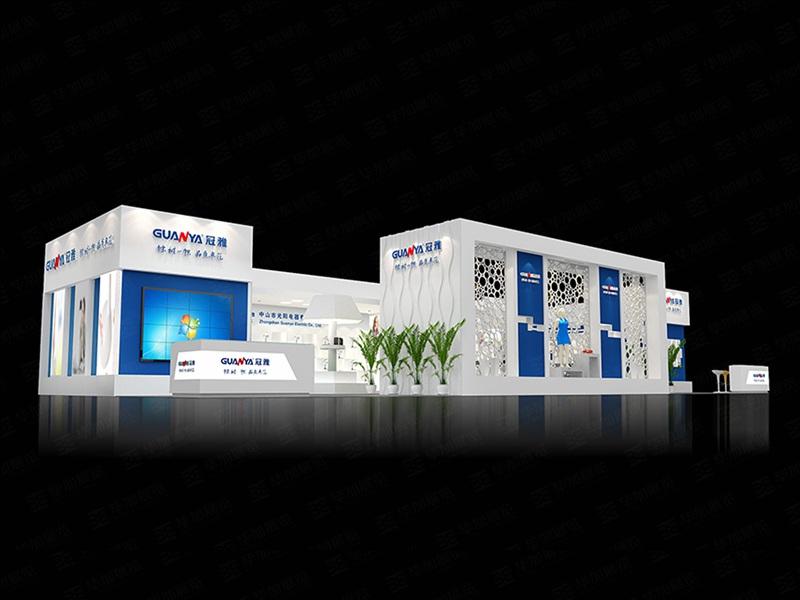 光阳电器—照明展展览设计